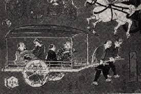 人力車が全盛だった時期 観光地に行くとやたら人力車を目にし