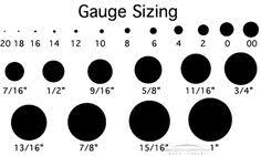 biggest gauge size printable gauge chart wikihow a good chart to determine gauge or