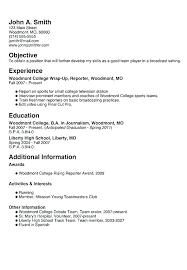 Job Resume For High School Student Mesmerizing College Student Resume Template College Student Resume Templates