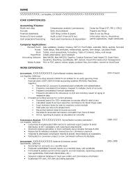 Example Of Accounting Resume Gorgeous Staff Accountant Resume Sample Andaleco