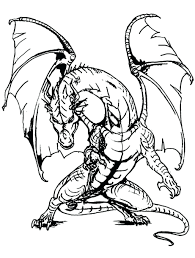 Dragon Coloring Pages For Adults Printable Pdf Free Only Unicorn ...