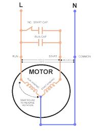 single phase motor wiring diagram wiring diagram schematics Single Phase AC Motor Wiring Diagram at Wiring Diagram For Forward Reverse Single Phase Motor