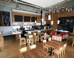 Coffee shop design ideas 's popularity has close relation with the its features such as coffee bar decor ideas. Thatcher S Coffee Shop Showcases Modern Recycled Design Coffee Shop Decor Coffee Shop Design Coffee Shop Interior Design