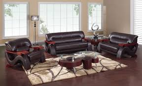 Leather Living Room Chairs Awesome Cheap Living Room Furniture Set Using Cheap Black Leather