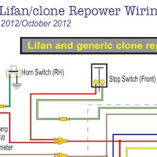 honda ct70 lifan &clone wiring diagram w electric starter home honda c90 wiring diagram at Honda Trail 70 Wiring Diagram