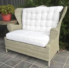 loveseat paulo rattan outdoor love seat chair furniture perth