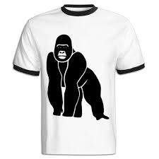 Jackjom Gorilla Ape Monkey King Kong Godzilla Silver Back