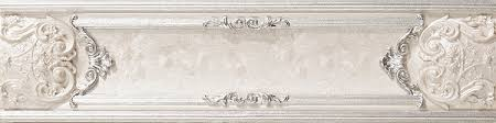 <b>Бордюр Marbeline</b> Empire White Listello 9.5x40 <b>Newker</b>