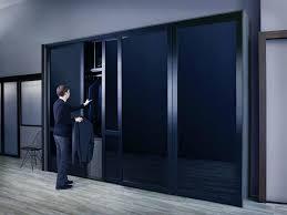 solid glass door closet closet quad fold closet doors sleek sliding glass door with