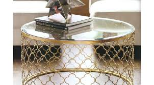 gold glass side table coffee tables gratify gold coffee table glass top excellent gold glass and
