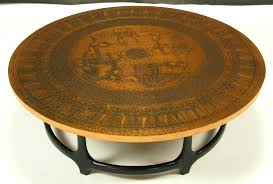 hammered copper table top beautiful copper end table with matching copper lamp hammered copper