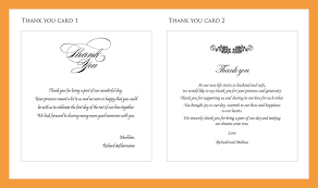 thank you card examples 12 thank you note wording resume pdf