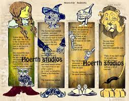 printable wizard of oz bookmarks great last minute gift paper eth159148142zoom