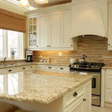 kitchen backsplash white cabinets. Inspiration For A Mid-sized Timeless U-shaped Ceramic Floor Kitchen Remodel  In Toronto Backsplash White Cabinets