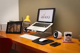design of laptop desk setup with great laptop setup here i like that mousepad minimal desks