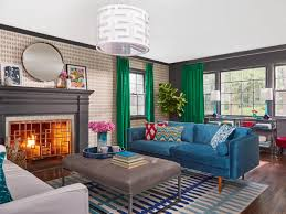 Makeover Living Room From Bland To Stylish Before And After Living Room Makeover Hgtv