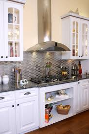 Stainless Steel Backsplash Kitchen Gorgeous Kitchen Backsplash Designs Kitchen Ideas