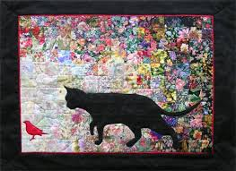 Another fantastic #cat #quilt. My grandfather would have loved ... & Whims Watercolor Quilt Kits Quilting Supplies, Cat Bird Whims Watercolor  Quilt Kits Adamdwight.com