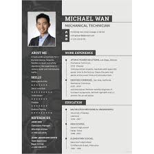 Mechanical Engineer Resume Awesome 60 Mechanical Engineering Resume Templates PDF DOC Free