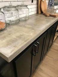at the gains love concrete counters kitchen gain throughout stained countertop idea 6
