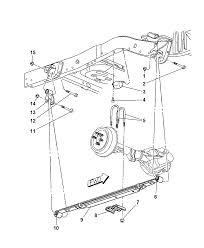52106361ac genuine mopar spring rear leaf rh moparpartsgiant dodge dakota suspension parts diagram dodge intrepid front suspension diagram
