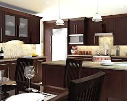 Trend Brown Kitchen Cabinets Shaker White Homes Ideas Design Some