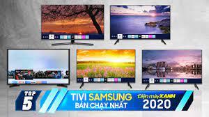 Top 5 tivi Samsung bán chạy nhất Điện máy XANH 2020
