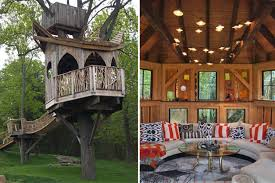 luxurious tree house. Luxury Treehouse Inside And Out Luxurious Tree House
