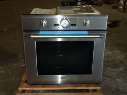 picture 1 of thermador double wall oven manual true convection single wall oven still in carton