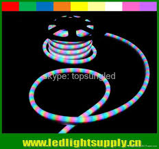 Color Changing Rope Lights Fascinating RGB Led Neon Rope Lights 32 Wire Color Changing China Manufacturer
