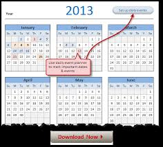 microsoft excel calendar free 2013 calendar download and print year 2013 calendar today