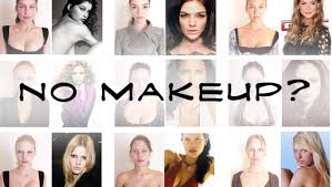 super models without makeup hair lighting and retouching
