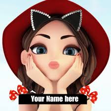 Cute Girl Cartoon Pic For Dp - រូបភាពប្លុក | Images