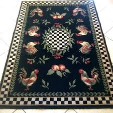 rooster rug runners area rugs catchy runner best images about on black x 8 rooster area rugs french country