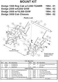 7157 mount kit
