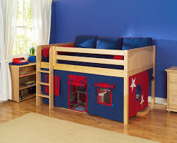 Awesome Loft Beds For Boys Maxtrix Kids One Story Playhouse Beds