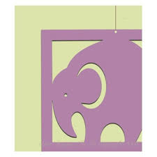 elephant baby mobile pattern sewing