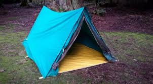 a frame backng tent