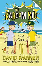 book cover image jpg test match kaboom kid 7