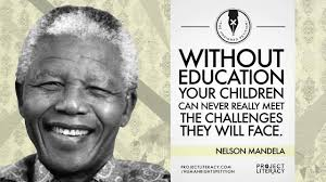 Project Literacy Nelson Mandela Quote
