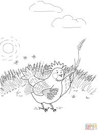 Small Picture Little Red Hen Coloring Pages Throughout The Coloring Page esonme