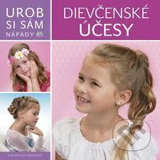 Kniha účesy Pre Dievčatá Urob Si Sám Alexandra Veres Martinus
