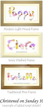 fairy personalized name frame