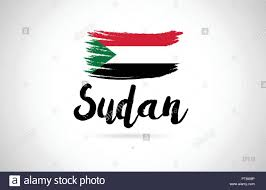 Sudan Design Sudan Country Flag Concept With Grunge Design Suitable For A