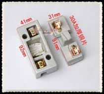 fuse from the best taobao agent com thick copper ceramic fuse box 30a pull out fuse fuse box plug the white