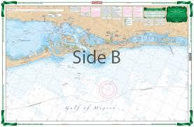 Sarasota Bay Nautical Chart Anna Maria Sound And Sarasota Bay Large Print Navigation Chart 21e