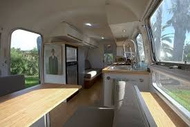 Airstream Interior Design Minimalist Simple Inspiration