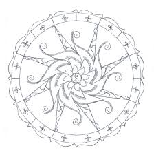 Lofty Ideas Free Mandala Coloring Pages Printable Kids Many