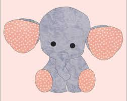 Elephant applique   Etsy &  Adamdwight.com