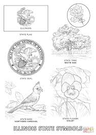 Small Picture Illinois State Symbols coloring page Free Printable Coloring Pages